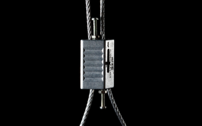 WIRE ROPE GRIPPER SUSPENSION WIRE KIT – ZIP-CLIP CABLE SUSPENSION SYSTEM