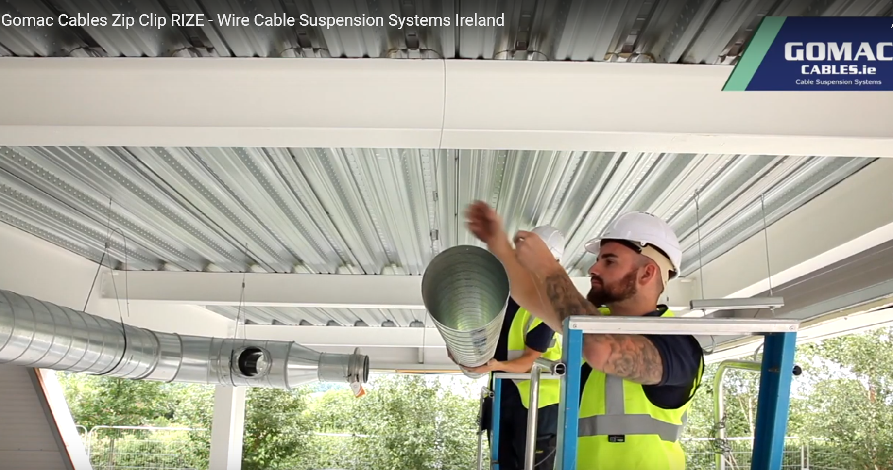 HVAC suspension systems