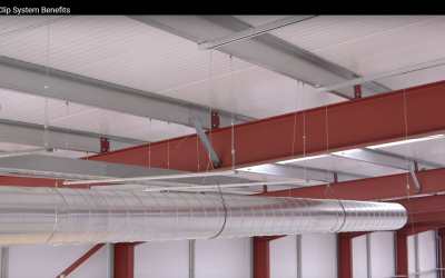 Installing HVAC Using a Cable Suspension System